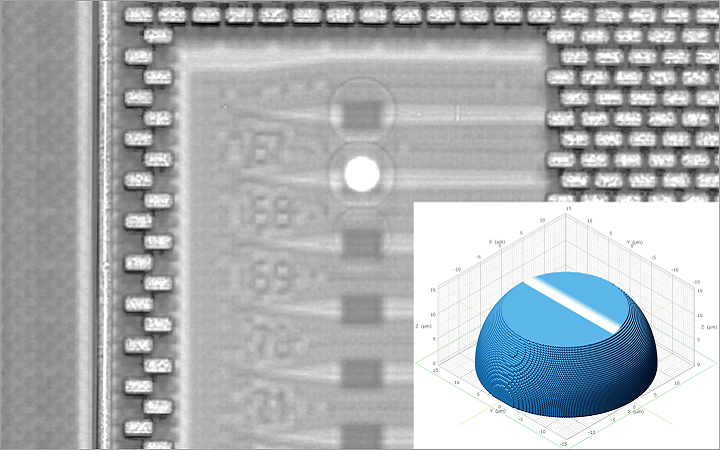 Nanoscribe 3D Printing and Integrating Microscopic Components Directly onto Integrated Circuits